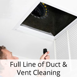 Full Line of Duct & Vent Cleaning